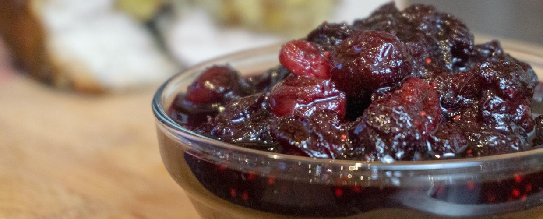 Sorrel & Cranberry Sauce